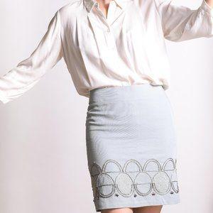 Pencil Skirt with Stunning Beaded Design, Loft